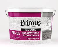 """PRIMUS Акриловая штукатурка база """"Короед"""", 25 кг (фракция 2, 2,5)"""