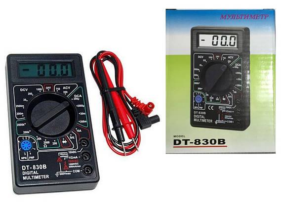 Мультиметр DT 830B, фото 2