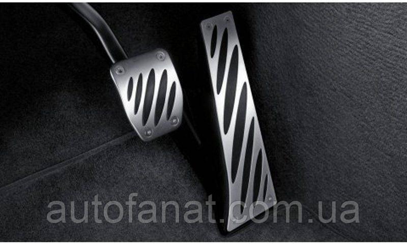 Оригинальные накладки на педали BMW Performance (АКПП) BMW X3 (F25) (35002213212)