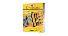 Набір інструментів K-TOOLS 1252-38PCS-IN-1 CR-V(Оригінал), фото 2