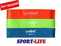 Эспандер-петля, набор из 3 шт. LiveUp LATEX LOOP, фото 1