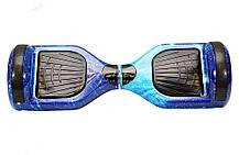 """Гироборд Smart Balance Wheel 6.5"""" c Tao Tao (Самобаланс, Led, Bluetooth, сумка) Синій Космос, фото 3"""