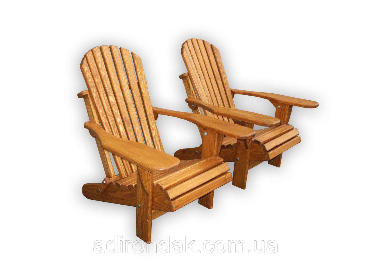 Кресло складное из дерева Адирондак