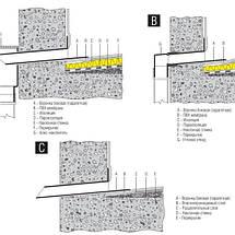 ПВХ  парапетная воронка 90-110х425 мм, фото 2