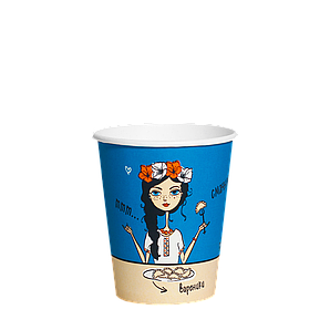 """Стакан 175 мл. Культура """"Ukraine"""" 50шт.упак.(54/2700) (КР69)"""