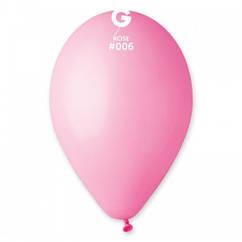 """Воздушные шары  латексные 8""""( 21 см.), розовый"""