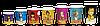 "Стакан 500 мл. Культура ""America"" 50шт.упак.(12/600) (КВ90/""РОМБ"" 90), фото 3"