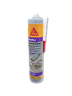 Клей-герметик силикон SIKAFLEX-CRYSTAL CLEAR прозрачный 300 ml
