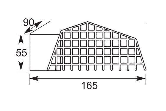 Листвоуловитель для воронки 65х100, фото 2
