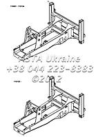 Шасси, рама, ходовая часть на Hidromek 102B