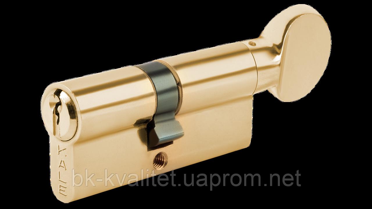 Цилиндр KALE 164 BM 100 (45х55Т) тумблер на длинной стороне, Латунь, повышенной секретности
