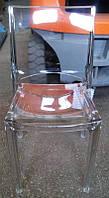 Стул из поликарбоната Sedia B-side Transparente Crystal, прозрачные стулья