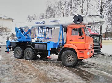 Автоподъемник ВИПО-36 КАМАЗ 43118