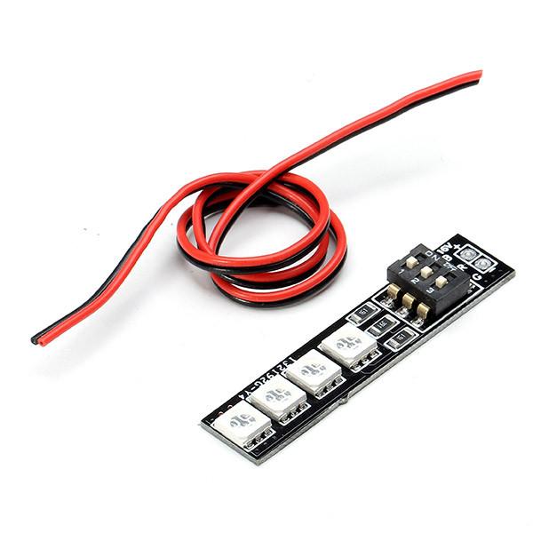 DIATONE RGB LED плата панель 16v 4S RGB5050 7 цветов для радиоуправляемых мультикоптеров - 1TopShop
