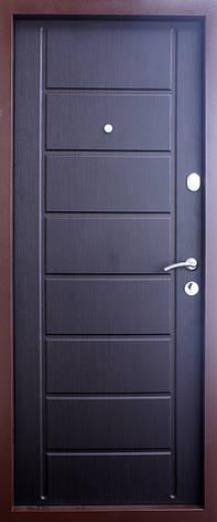 Двери квартирные, QDoors, модель Канзас, комплектация Эталон,2 контура уплотнения, фото 2