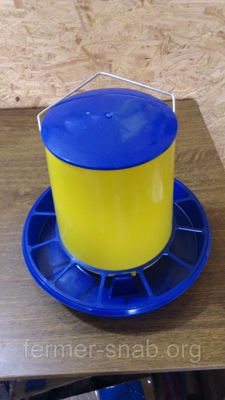 Годівниця жовта обсяг 6 кг