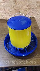 Кормушка желтая объем 6 кг