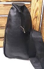 Сумка через плечо, велосипеда на три отдела, регулируемый ремешок, материал искусственная кожа, фото 3