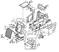 Кузовные запчасти, капот, бампер радиатор на Hidromek 102B