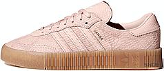 Женские кроссовки Adidas Sambarose Pink Gum