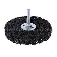 Круг зачистной CLEAN & STRIP на штоке 100х10х6 мм (147176)