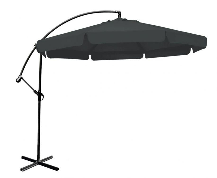 Зонт садовый GoodHome DP-HG300 темно-серый (8002)