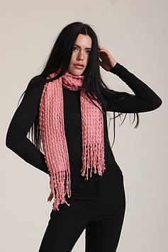 Палантин Ashma 70*180+10*2 см Розовый (P1989(59))