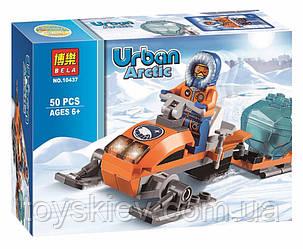 """Конструктор Bela 10437 (аналог Lego City 60032) """"Арктические аэросани"""", 50 дет"""