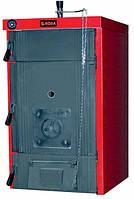 Твердотопливный котел Roda Brenner Max BM-07 Красный с черным (0301010119-000015884)
