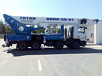 АВТОГИДРОПОДЪЕМНИК ВИПО-56 на базе шасси МАЗ-6516С9
