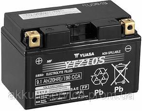 Аккумулятор мото Yuasa High Performance MF 9.1 AH/190А YTZ10S(WC)
