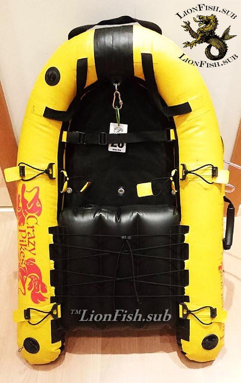 Буй Плот LionFish.sub для Подводной Охоты, Дайвинга и Фридайвинга