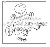 Права панель відсіку двигуна на Hidromek 102B, фото 1