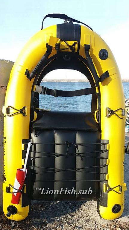 Плотик LionFish.sub, Буй для Подводной Охоты, Дайвинга и Фридайвинга