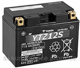 Аккумулятор мото Yuasa High Performance MF 11.6 AH/210А YTZ12S(WC)