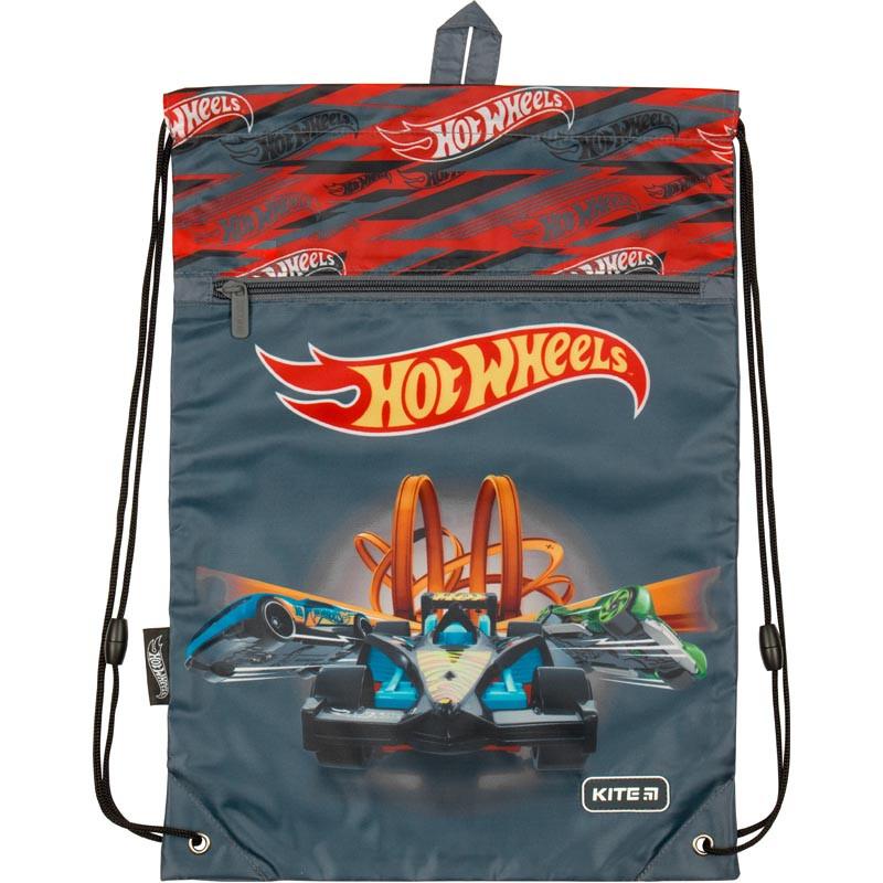 Сумка для обуви Kite с карманом HW19-601M-1 Hot Wheels
