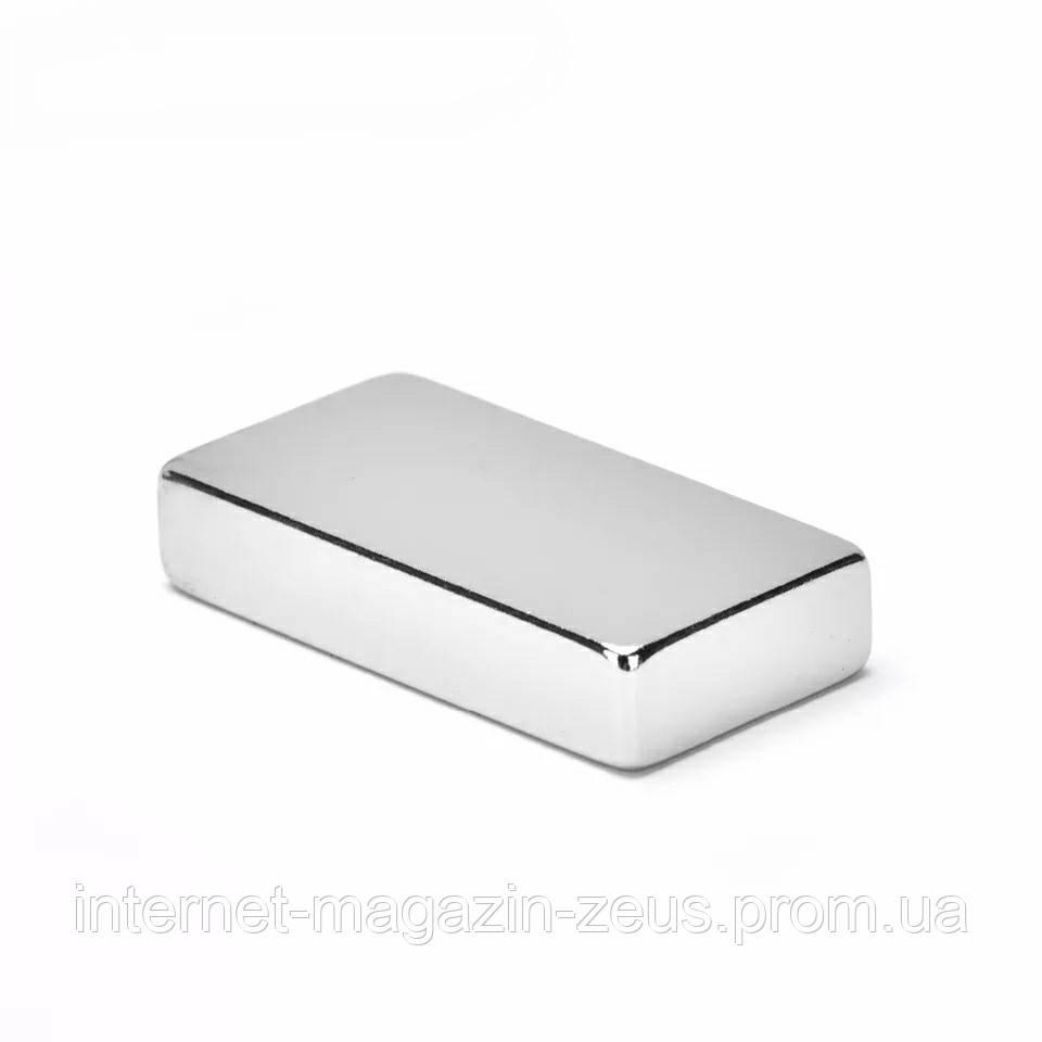 Неодимовый магнит 40х20х10 мм для точилок Touch pro Ultra