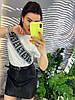 Стильная юбка из экокожы.   Размер: М-88/90 Л-90/92 ХЛ-92/94. Цвет: черный (0477), фото 4