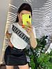 Стильная юбка из экокожы.   Размер: М-88/90 Л-90/92 ХЛ-92/94. Цвет: черный (0477), фото 6