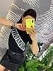 Стильная юбка из экокожы.   Размер: М-88/90 Л-90/92 ХЛ-92/94. Цвет: черный (0477), фото 7
