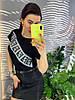 Стильная юбка из экокожы.   Размер: М-88/90 Л-90/92 ХЛ-92/94. Цвет: черный (0477), фото 8