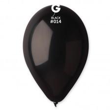 """Воздушные шары  латексные 8""""( 21 см.), черный"""
