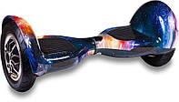 "Гироборд  Smart Balance Wheel 10.0"" (Самобаланс, Led, Bluetooth, сумка) Космос"