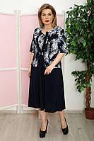 Платье Руфи к/р клеш салют, фото 1