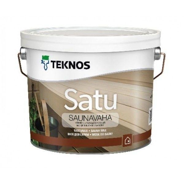 Віск для сауни Teknos Satu Saunavaha 2.7 л