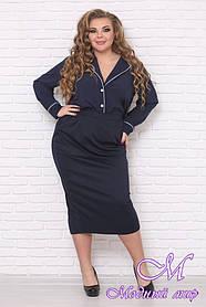 Женская длинная юбка большого размера (р. 48-90) арт. Леля