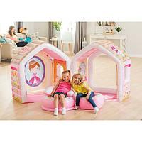 Надувной игровой центр-домик Intex 48635 Princess , фото 1