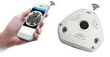 Панорамна Wi-Fi IP-камера 360° (риб'яче око), фото 2