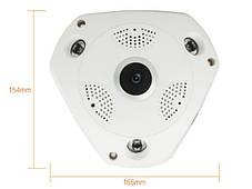 Панорамна Wi-Fi IP-камера 360° (риб'яче око), фото 3