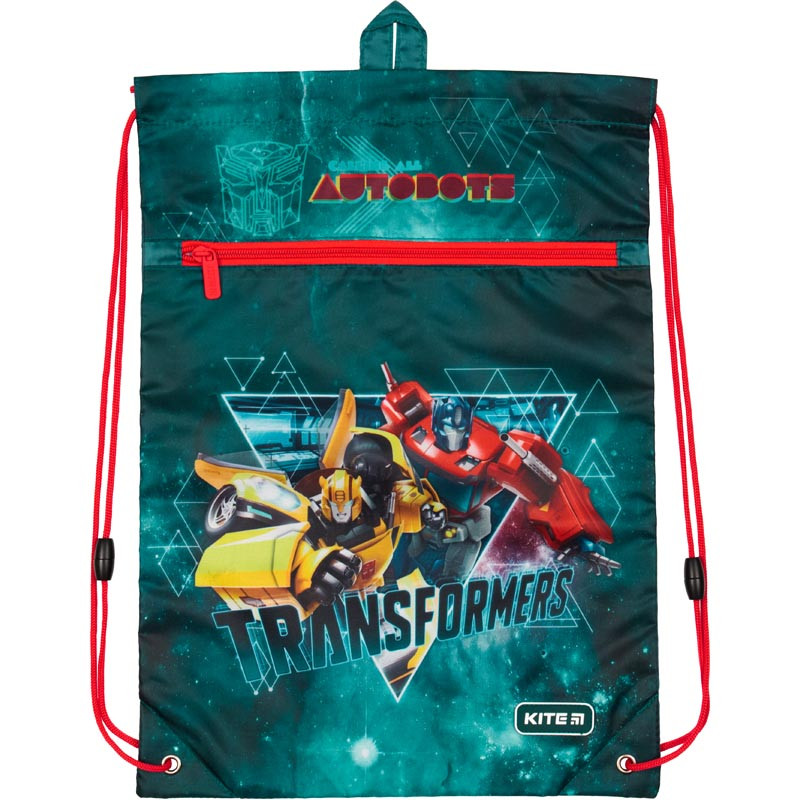 Сумка для обуви Kite с карманом TF19-601M-2 Transformers